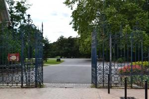 Entrée du parc avenue d'Eysines